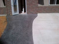 Decorative concrete construction in Wisconsin Rapids, WI