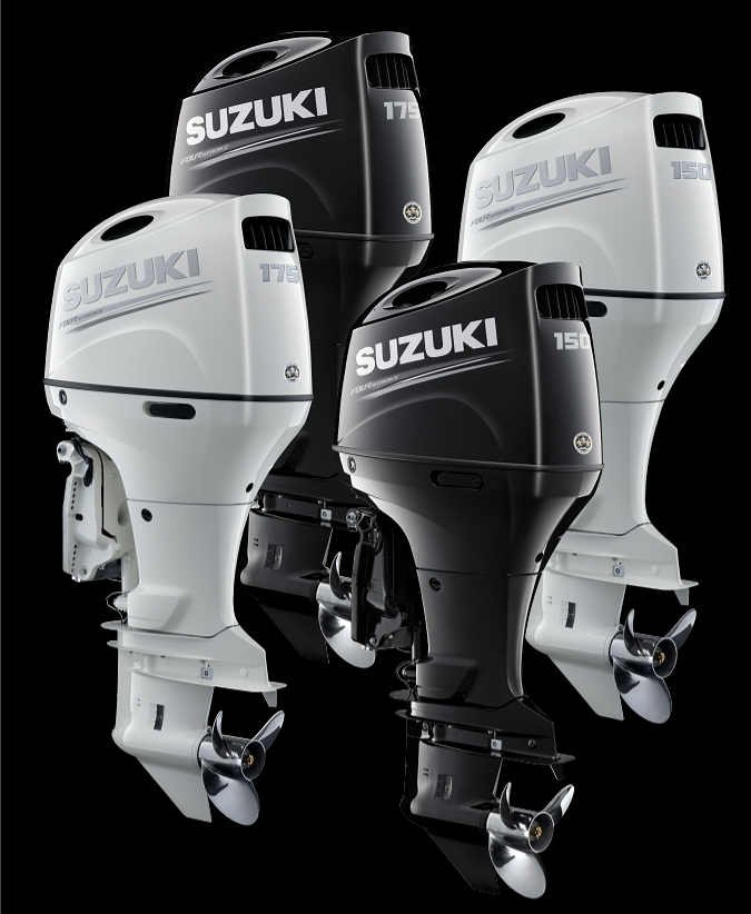 Suzuki Outboards Available Now at Mayday Marine Services in St