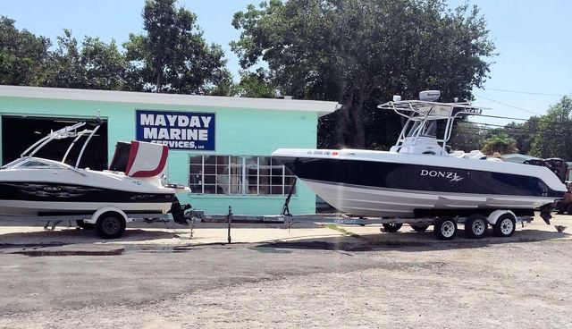 Outboard Engine Service by MayDay Marine Services in St