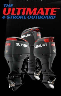 Suzuki Outboards Available Now at Mayday Marine Services in