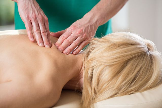 Back and neck massage therapy