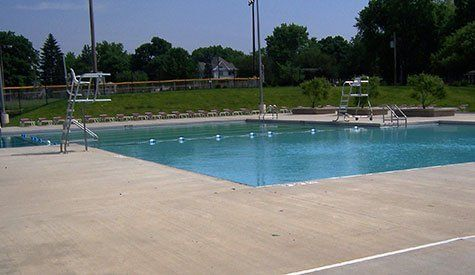 Tremont Park District Pool Deck - Public Pool Decks