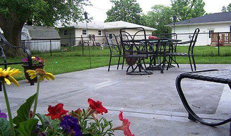 Concrete Patios - Residential Concrete contractor