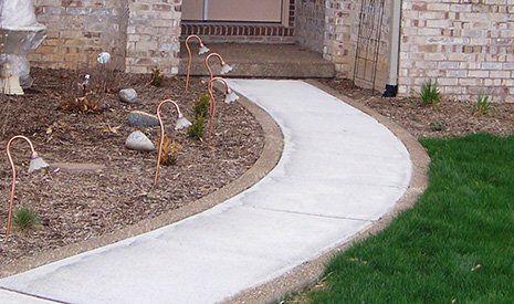 Decorative Concrete Borders - Central Illinois