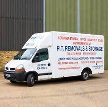 Roger Tumber Removals company van