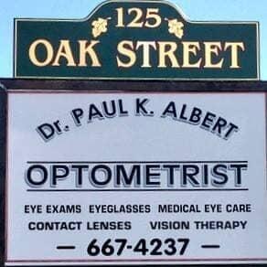 Optometrist   Ellsworth, ME   Paul K  Albert - Optometrist