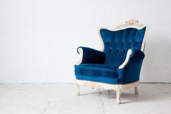 Divano divano in divano in stile classico in stile vintage