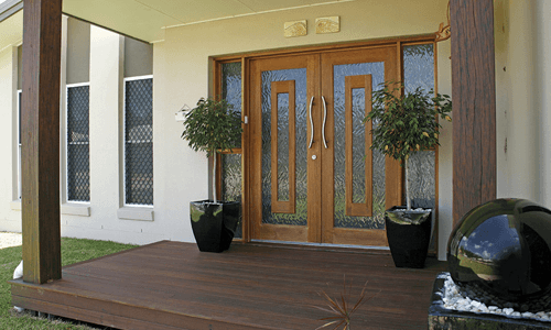 Entrance and exterior doors