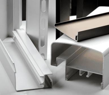 barre in alluminio
