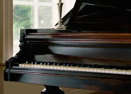 Professional piano cleaning