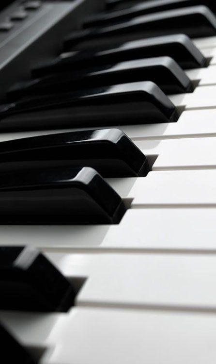 A new piano