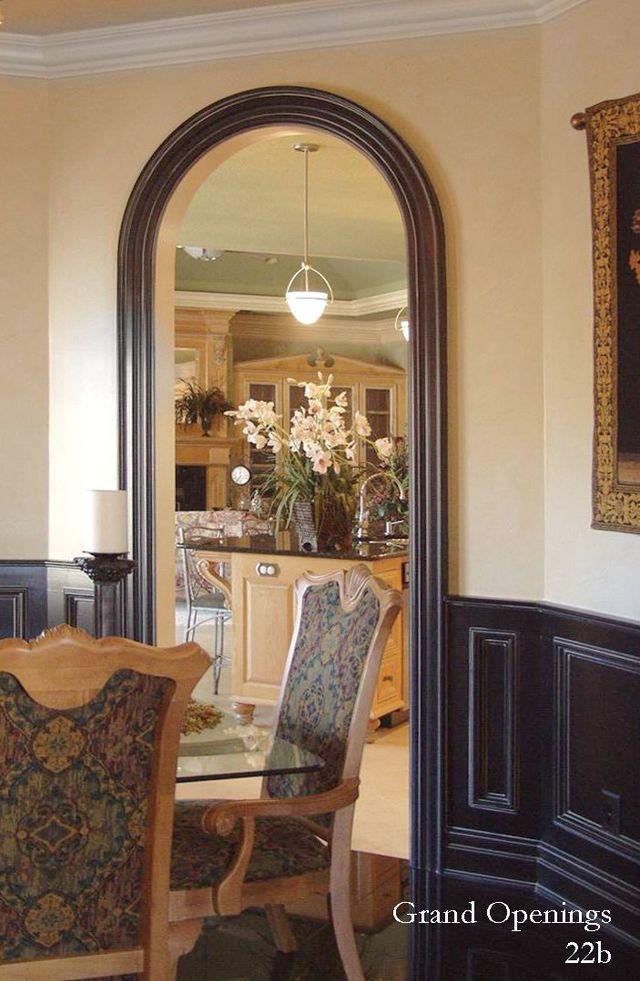 Eyebrow Design for arched doorways