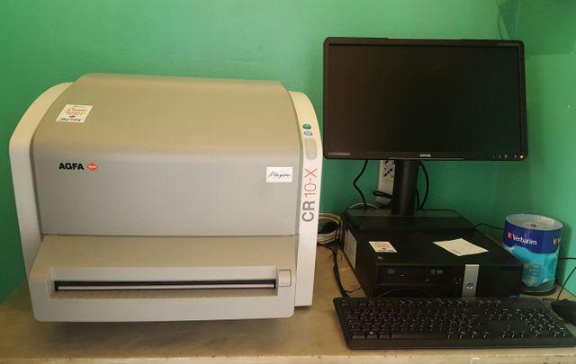 macchinario per radiologia digitale