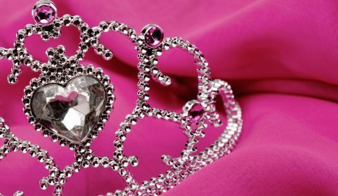 A tiara from the professional Tauranga jewellers