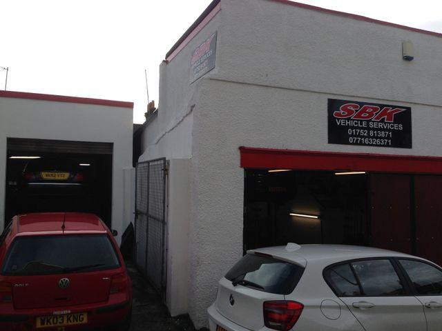 SBK Vehicle Services garage