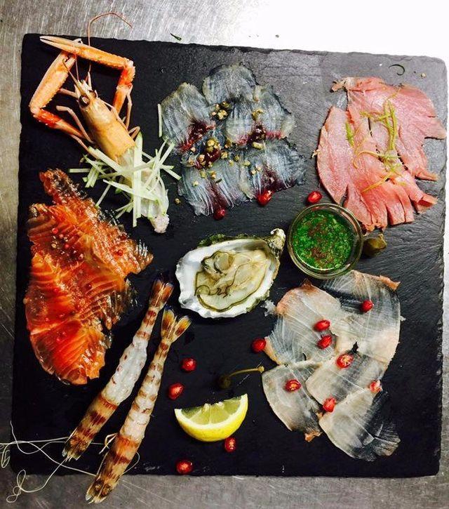 degustazioni piatti completi di pesce