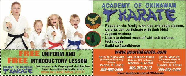 Academy of Okinawan Karate free coupon