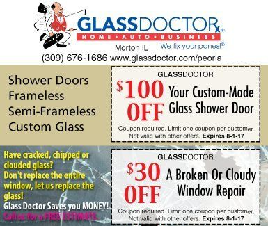 Glass Doctor home auto business coupons
