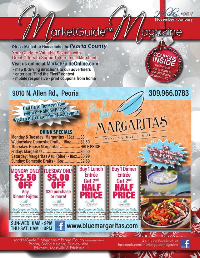 MarketGuide Magazine Direct Mail and free placement pickup coupon and discount magazines