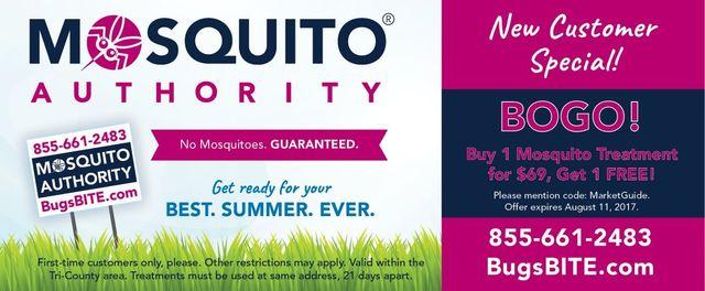Mosquito Authority BOGO coupon