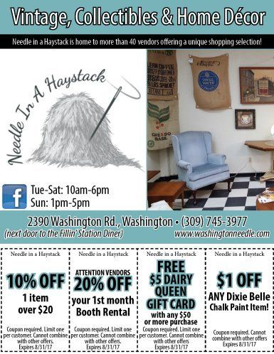 Needle In A Haystack coupons and gift cards