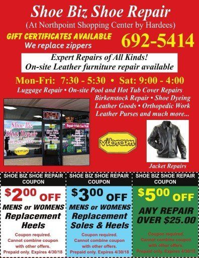Shoe biz coupons