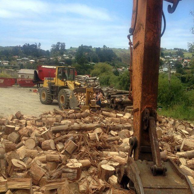 Firewood processing in Dunedin