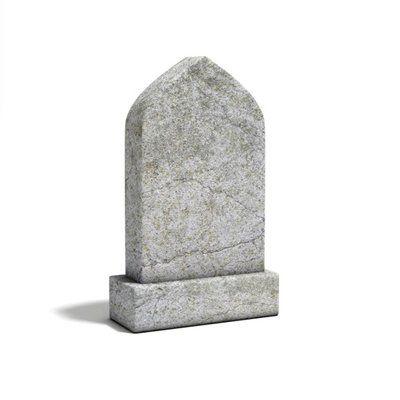 customised gravestone