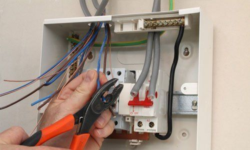 electrical appliance fitting