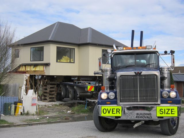 Home relocations on New Zealand's South Island