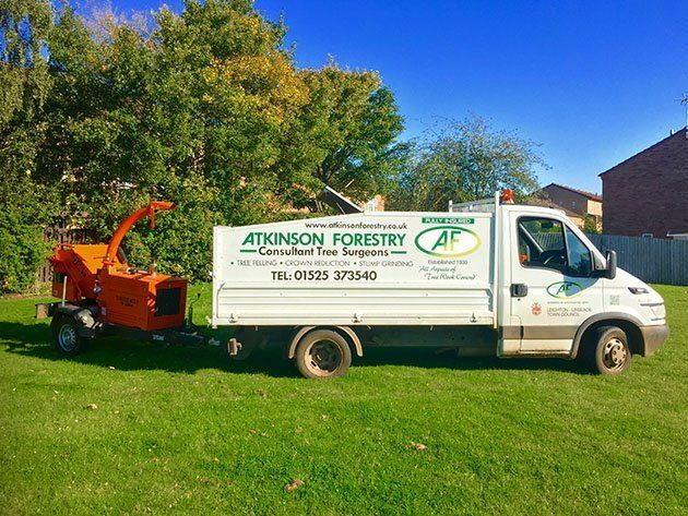 ATKINSON FORESTRY mobile van