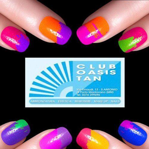 Nails al centro estetico Club Oasis Tan a Porto Mantovano