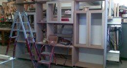 serramenti in legno, librerie su misura, pensiline in legno
