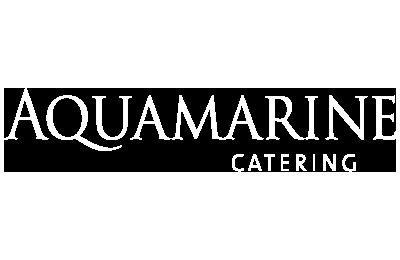 Aquamarine catering logo