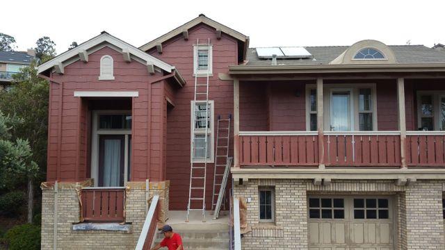 exterior house painting San Jose, CA