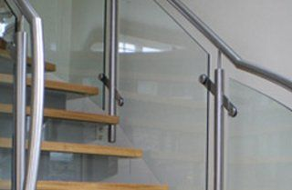 fabricated metal handrails