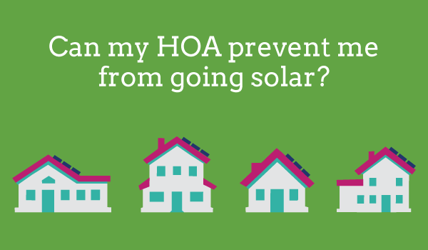 An attempt to limit HOA power over solar installations - HB750