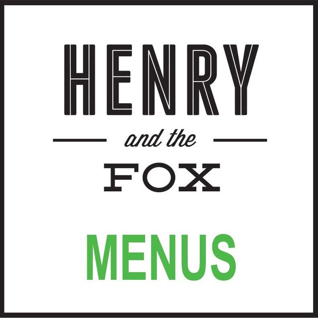 henry and the fox menus box