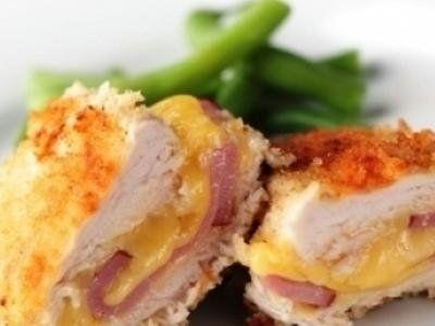 cordon bleau di pollo con prosciutto e formaggio