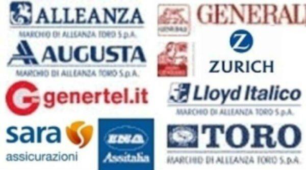 diversi loghi di compagnie assicurative