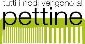 ACCONCIATURE UOMO E DONNA TUTTI I NODI VENGONO AL PETTINE-logo