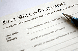 Writing an will