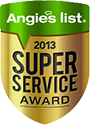 2013 Super Service Award icon