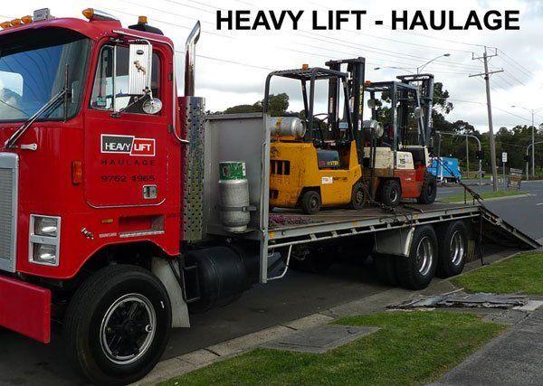 hauling heavy lift
