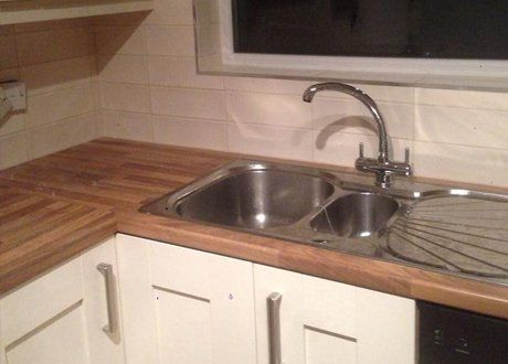 Sink and worktop