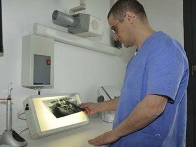 radiografie dentali
