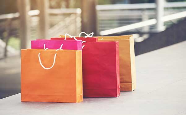 sacchetti colorati