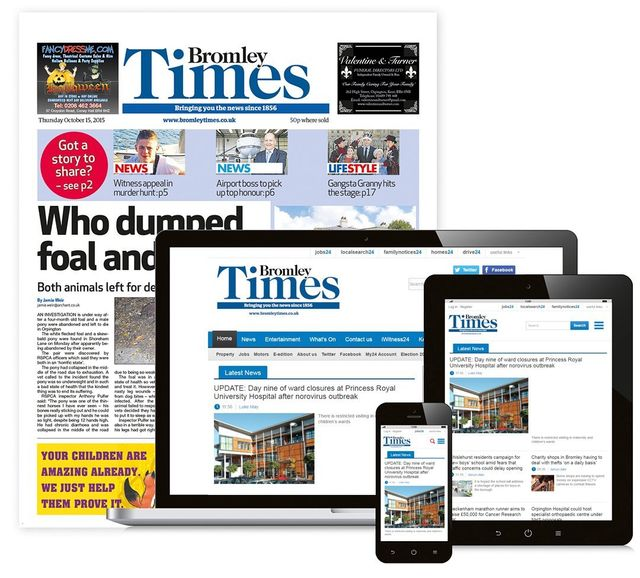 Bromley Times Newspaper