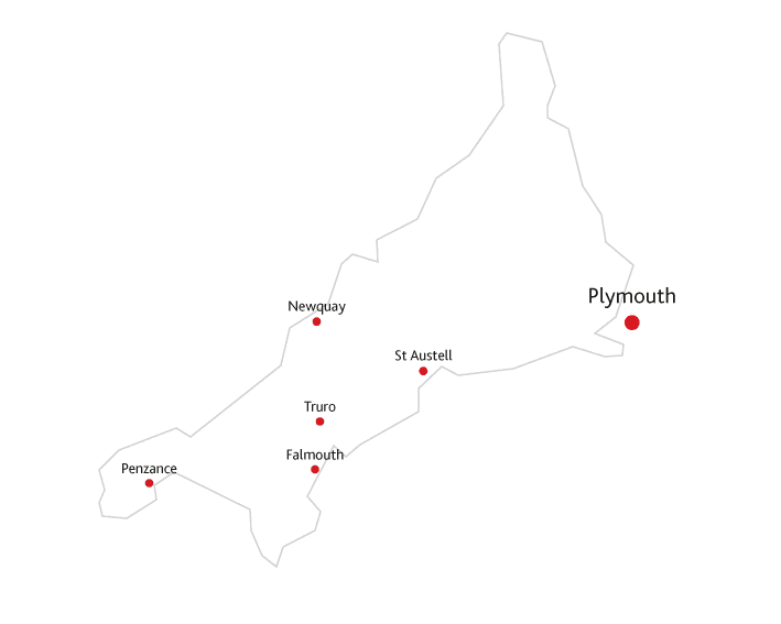 Cornwall Life Routes to market map