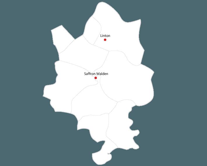 Saffron Walden Reporter Routes to market map